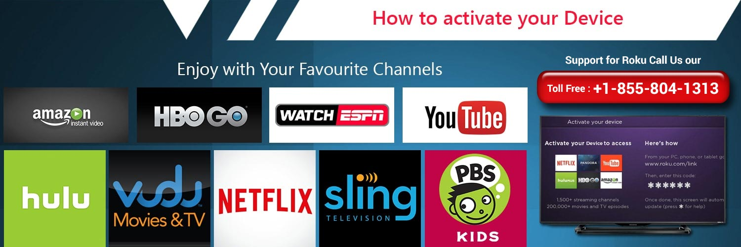 How to activate you device in www.roku.com/link?