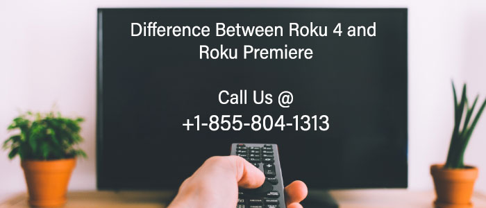 what is the difference between Roku 4 and Roku premiere
