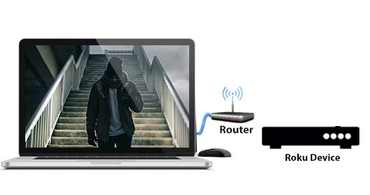 Roku setup wireless connection